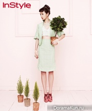 Yoon Seung Ah, Kim Min Seo для InStyle Korea 2012