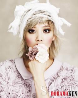 Yoon Seung Ah для Sure September 2012