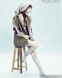 Yoon Seung Ah для Thursday Island F/W 2013 Campaign
