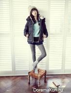 Yoon Seung Ah для Thursday Island Winter 2013