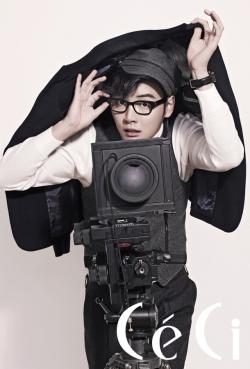 Yoon Si Yoon для CéCi January 2011