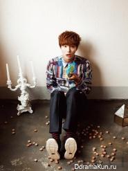 Yoon Si Yoon для CéCi January2013