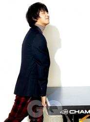 Yoon Si Yoon для GQ Korea November 2010