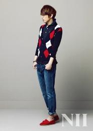 Jung Yong Hwa, Yoon Si Yoon для NII Spring 2010 Ad Campaign