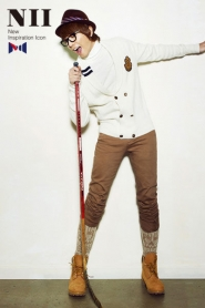 CN Blue, Yoon Si Yoon для NII Winter 2010 Catalogue