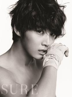 Yoon Si Yoon для Sure August 2011