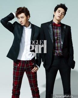 Yoon Si Yoon, Kim Ji Hoon для Vogue Girl February 2013