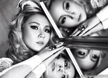 CL (2NE1) для Elle December 2015 Extra 2