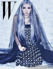 2NE1 (CL) для W Korea January 2016