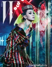 2NE1 (CL) для W Korea March 2016