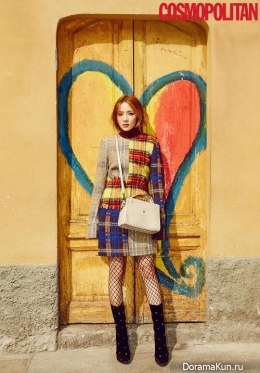 2NE1 (Dara) для Cosmopolitan November 2016