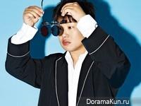 Ahn Jae Hong для SURE April 2016