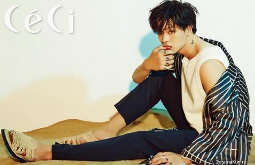 BTOB (Sungjae) для CeCi August 2016