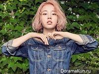 Baek Ah Yeon для CeCi July 2016