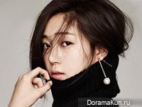 Baek Jin Hee для InStyle January 2016