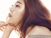 Baek Jin Hee для SURE April 2016