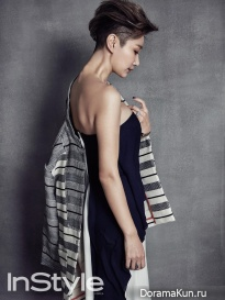 Byun Jung Soo для InStyle February 2016