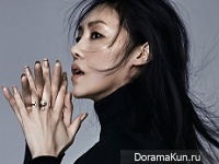 Cha Ji Yeon для SURE January 2016