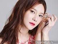Cha Ye Ryun для InStyle April 2016