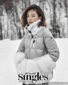 Chae Jung Ahn для Singles January 2016