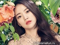 Cheon Woo Hee для Cosmopolitan May 2016