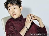 Choi Sung Won для Grazia February 2016