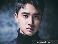 EXO (D.O) для Cine21 Vol. 1043
