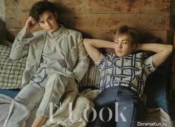 EXO (Xiumin), Yoo Seung Ho для First Look 2016