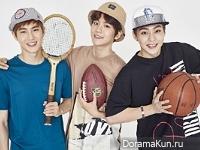 EXO для HAT'S ON 2016 CF