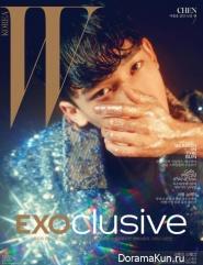 EXO для W Korea July 2016