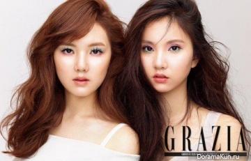 G-Friend для Grazia May 2016
