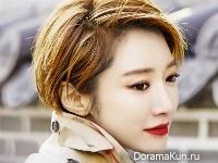 Go Joon Hee для Grazia March 2016