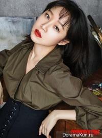 Gong Hyo Jin для Cosmopolitan April 2016