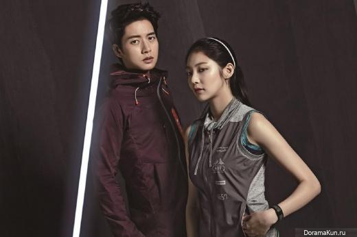 Park Hae Jin, Gong Seung Yeon для Center Pole 2016 CF
