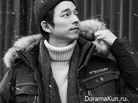 Gong Yoo для Discovery F/W 2016-2017 CF