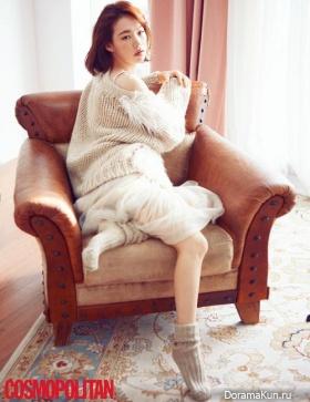 Han Ye Ri для Cosmopolitan November 2016