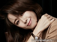 Hong Eun Hee для Elle October 2016