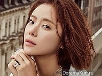 Hwang Jung Eum для Elle January 2016