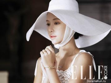 Hwang Jung Eum для Elle March 2016