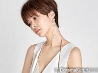 Hwang Jung Eum для Elle May 2016