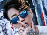 Jay Park для Dazed April 2016