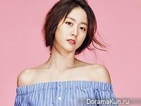 Jeon Hye Bin для InStyle July 2016