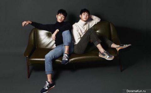 Ji Soo, Lee Won Geun для Stella Magazine 2015