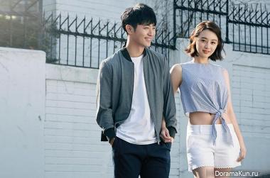 Jin Goo, Kim Ji Won для Grazia April 2016 Extra