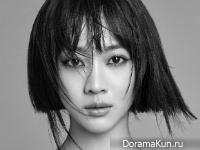 Jo Bo Ah для Elle January 2016