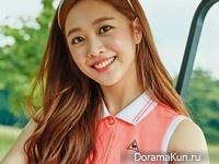 Jo Bo Ah для Singles April 2016