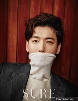 Jung Kyung Ho для SURE January 2016
