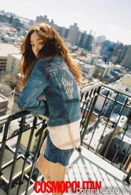Jung Ryu Won для Cosmopolitan April 2016