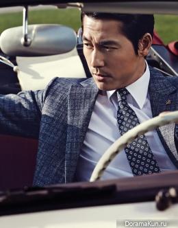 Jung Woo Sung для WELLMADE 2016 CF