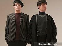 Kang Ha Neul, Park Jung Min для Nylon February 2016
